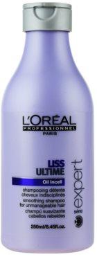 L'Oréal Professionnel Série Expert Liss Ultime champô para cabelos crespos e inflexíveis