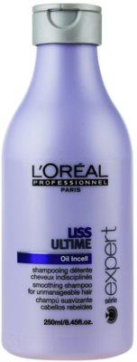 L'Oréal Professionnel Série Expert Liss Ultime champú para cabello encrespado y rebelde