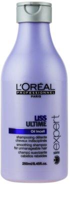 L'Oréal Professionnel Série Expert Liss Ultime шампоан  за неподдайна коса