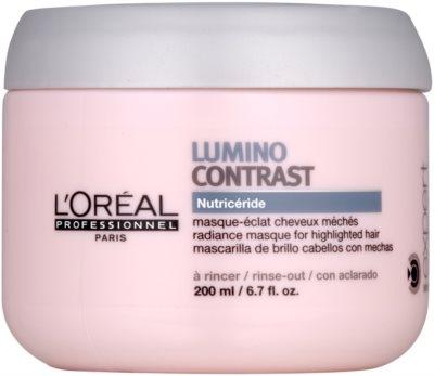L'Oréal Professionnel Série Expert Lumino Contrast Regenerierende Maske für helles meliertes Haar