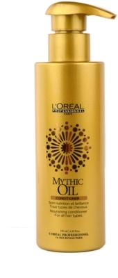 L'Oréal Professionnel Mythic Oil condicionador nutritivo para todos os tipos de cabelos