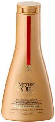 L'Oréal Professionnel Mythic Oil kondicionér pro silné a nepoddajné vlasy