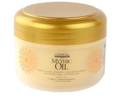 L'Oréal Professionnel Mythic Oil máscara nutritiva para todos os tipos de cabelos