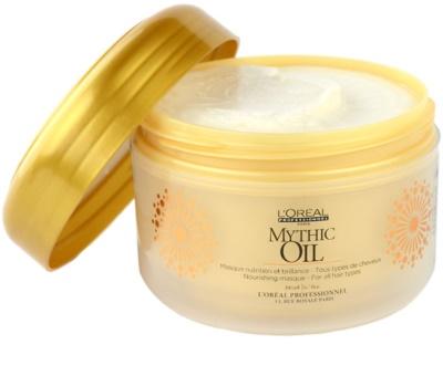 L'Oréal Professionnel Mythic Oil máscara nutritiva para todos os tipos de cabelos 1