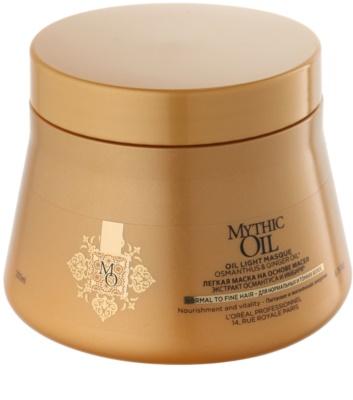 L'Oréal Professionnel Mythic Oil lehká olejová maska pro normální až jemné vlasy