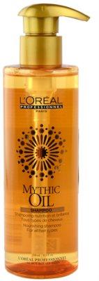 L'Oréal Professionnel Mythic Oil champô nutritivo para todos os tipos de cabelos