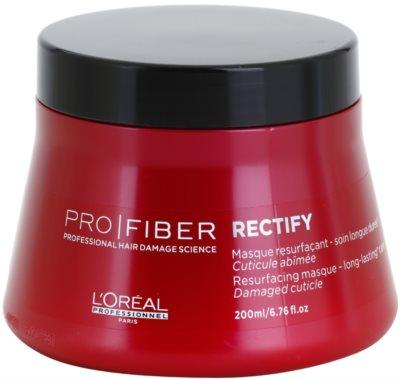 L'Oréal Professionnel Pro Fiber Rectify máscara regeneradora para cabelo fino a normal