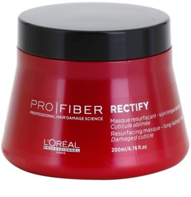 L'Oréal Professionnel Pro Fiber Rectify regeneráló maszk vékonyszálú és normál hajra