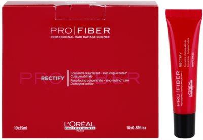 L'Oréal Professionnel Pro Fiber Rectify tratamiento regenerador  para cabello fino y normal