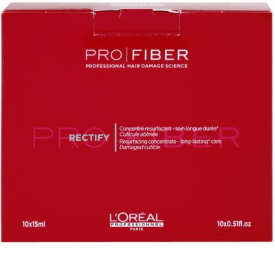 L'Oréal Professionnel Pro Fiber Rectify tratamiento regenerador  para cabello fino y normal 2