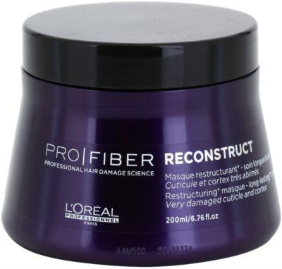 L'Oréal Professionnel Pro Fiber Reconstruct masca pentru regenerare pentru par foarte uscat si deteriorat