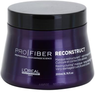 L'Oréal Professionnel Pro Fiber Reconstruct регенерираща маска  за изключително суха и увредена коса