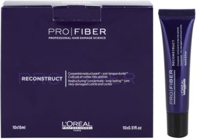 L'Oréal Professionnel Pro Fiber Reconstruct kuracja regeneracyjna do bardzo suchych i zniszczonych włosów
