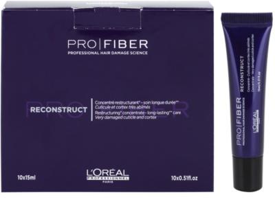 L'Oréal Professionnel Pro Fiber Reconstruct tratament regenerator pentru par foarte uscat si deteriorat