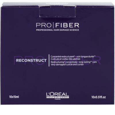 L'Oréal Professionnel Pro Fiber Reconstruct kuracja regeneracyjna do bardzo suchych i zniszczonych włosów 2