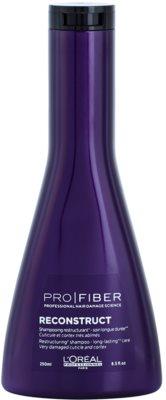 L'Oréal Professionnel Pro Fiber Reconstruct sampon pentru regenerare pentru par foarte uscat si deteriorat