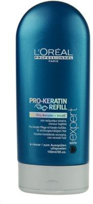 L'Oréal Professionnel Série Expert Pro-Keratin Refill ápolás meggyengült hajra