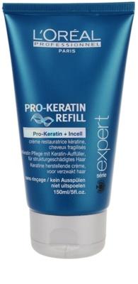 L'Oréal Professionnel Série Expert Pro-Keratin Refill crema regeneratoare pentru par deteriorat