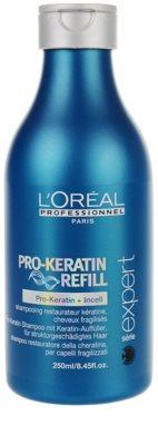 L'Oréal Professionnel Série Expert Pro-Keratin Refill sampon pentru par deteriorat