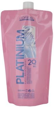 L'Oréal Professionnel Platinium emulsión activadora