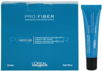 L'Oréal Professionnel Pro Fiber Restore bőrmegújító ápolás sérült, vegyileg kezelt hajra