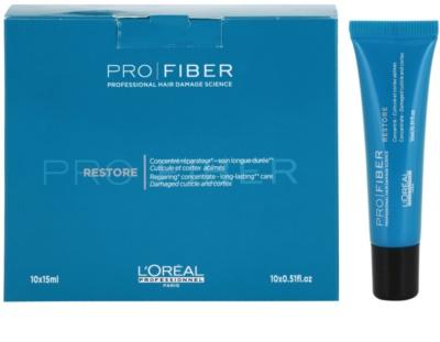 L'Oréal Professionnel Pro Fiber Restore erneuernde Pflege für beschädigtes, chemisch behandeltes Haar