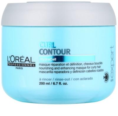 L'Oréal Professionnel Série Expert Curl Contour Maske mit ernährender Wirkung für Dauerwelle und welliges Haar