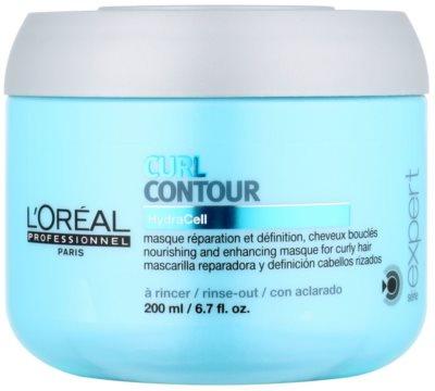 L'Oréal Professionnel Série Expert Curl Contour tápláló maszk hullámos és dauerolt hajra