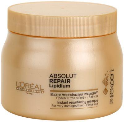 L'Oréal Professionnel Série Expert Absolut Repair Lipidium регенерираща маска  за силно увредена коса