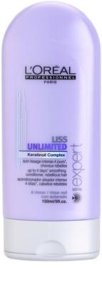 L'Oréal Professionnel Série Expert Liss Unlimited acondicionador alisador para cabello encrespado y rebelde