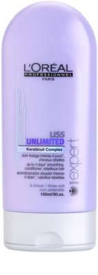L'Oréal Professionnel Série Expert Liss Unlimited condicionador alisante para cabelos crespos e inflexíveis