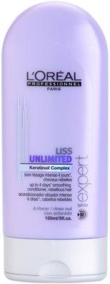L'Oréal Professionnel Série Expert Liss Unlimited odżywka wygładzająca do włosów nieposłusznych i puszących się