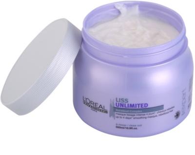 L'Oréal Professionnel Série Expert Liss Unlimited glättende Maske für unnachgiebige und strapaziertes Haar 1