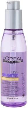 L'Oréal Professionnel Série Expert Liss Unlimited ulei pentru netezire pentru par indisciplinat