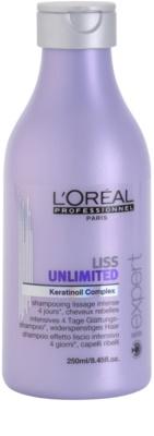 L'Oréal Professionnel Série Expert Liss Unlimited champô alisante para cabelos crespos e inflexíveis