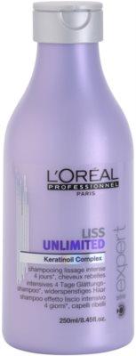 L'Oréal Professionnel Série Expert Liss Unlimited розгладжуючий шампунь для неслухняного та кучерявого волосся
