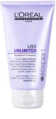 L'Oréal Professionnel Série Expert Liss Unlimited glättende Creme für unnachgiebige und strapaziertes Haar