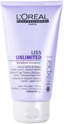 L'Oréal Professionnel Série Expert Liss Unlimited uhlazující krém pro nepoddajné a krepatějící se vlasy