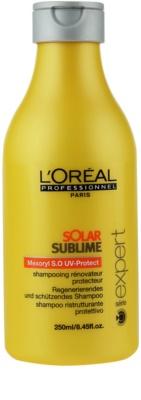 L'Oréal Professionnel Série Expert Solar Sublime regeneracijski šampon za lase izpostavljene soncu