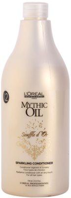 L'Oréal Professionnel Mythic Oil Souffle d´Or gelový kondicionér pro lesk a hebkost vlasů