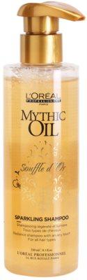 L'Oréal Professionnel Mythic Oil Souffle d´Or Shampoo mit ernährender Wirkung für glänzendes und geschmeidiges Haar