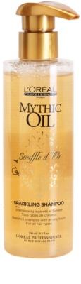 L'Oréal Professionnel Mythic Oil Souffle d´Or tápláló sampon a fénylő és selymes hajért