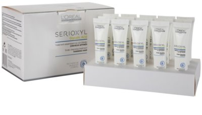 L'Oréal Professionnel Serioxyl очищуючий пілінг перед застосуванням шампуня для випадаючого волосся
