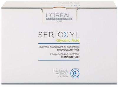 L'Oréal Professionnel Serioxyl почистваща грижа преди използване на шампоан за оредяваща коса и скалп 3