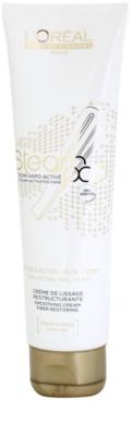 L'Oréal Professionnel Steampod auffüllende und glättende Creme für thermische Umformung von Haaren