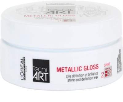 L'Oréal Professionnel Tecni Art Shine cera moldeadora para dar brillo