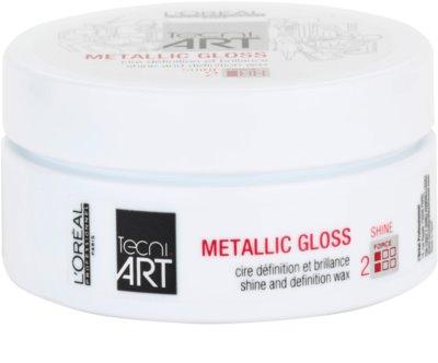 L'Oréal Professionnel Tecni Art Shine formázó wax a magas fényért
