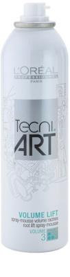 L'Oréal Professionnel Tecni Art Volume espuma fijadora styling para dar volumen desde las raíces 1