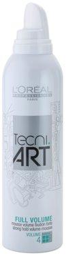 L'Oréal Professionnel Tecni Art Volume spuma pentru fixare puternica pentru volum 1
