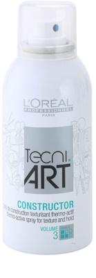 L'Oréal Professionnel Tecni Art Volume thermoaktives Spray für Fixation und Form